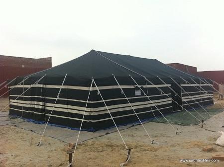 Black & White Deluxe Tent