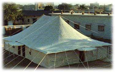Double Pole Regulation Tent