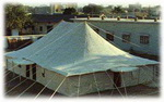 Double Pole Regulation Tent