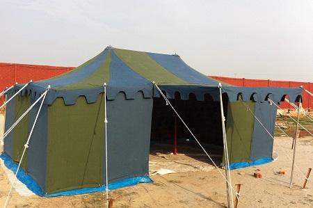 Blue & Green Deluxe Tent