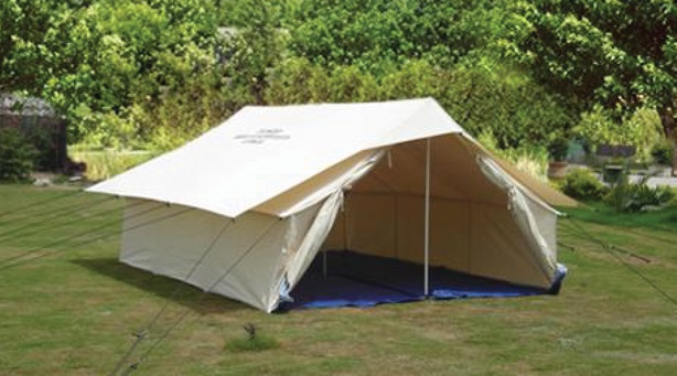 Double Fly, Single Fold Tents