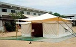 Single Pole, Double Fly Tent
