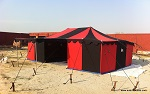 Red & Black Deluxe Tent